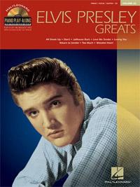 Elvis Presley Greats - Piano Play-Along, Volume 36