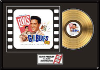 GI Blues Soundtrack Series Limited Edition Gold Record