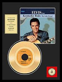Kentucky Rain 24KT Gold Record