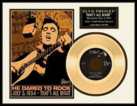 That's All Right 50th Anniversary Limited Edition Gold Record