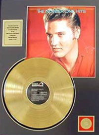 The #1 Number One Hits 24 Kt Gold LP Record