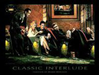 Classic Interlude, Art Poster by Chris Consani
