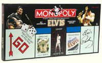 Elvis Presley 25th Anniversary Collectors Edition Of The Monopoly Game