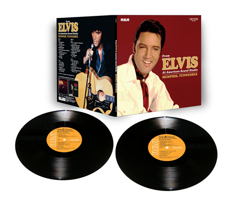 From Elvis At American Sound Studio, Memphis, Tennessee