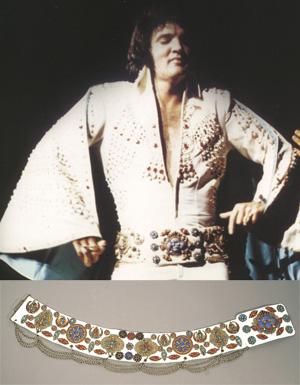 Elvis' 1972 Phoenix Suit Belt On Auction - Misc