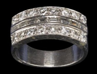A Company Called Profiles In History Is Auctioning Off Elvis S Diamond And Platinum Wedding Band To His Wife Priscilla On December14 15