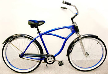 Blue Suede Shoes Bicycle Misc