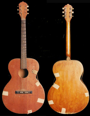 ElvisNews.com: Elvis ' First Guitar For Sale (Again) - Misc.