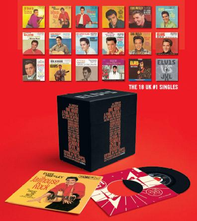 Elvis' 18 UK #1 Singles Results