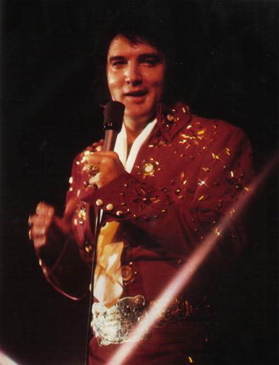 Elvis Presley 1972/04/10