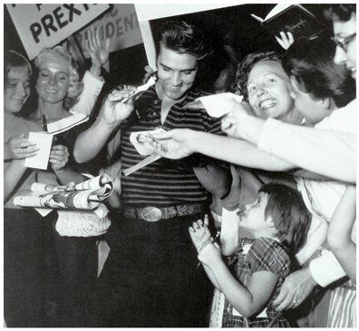 Elvis Presley 1956/08/16