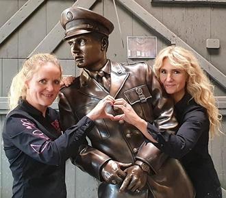 Elvis Statue For Bad Nauheim