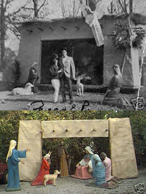 elvisnews com original graceland nativity scene on ebay misc