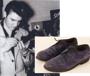 Black Suede Shoes Elvis