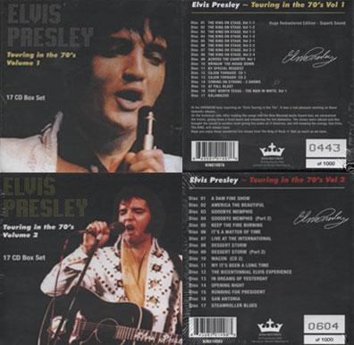 Elvisnews Com Touring In The 70 S Cd Vinyl