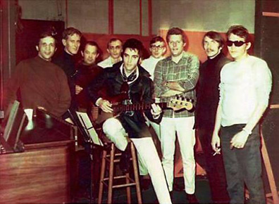 Elvis Presley and the American Sound Studio Band