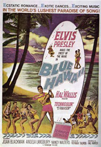 Movie poster 'Blue Hawaii'