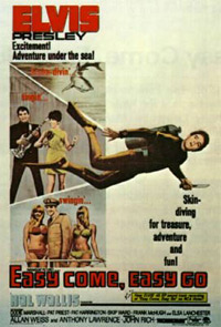 Movie poster 'Easy Come, Easy Go'