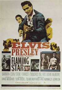 Movie poster 'Flaming Star'