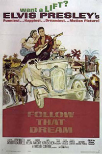 Movie poster 'Follow That Dream'