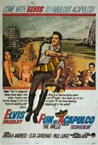 Movie poster 'Fun In Acapulco'