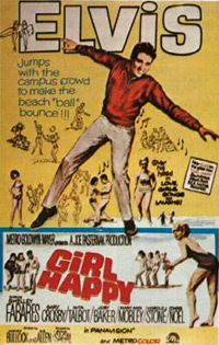Movie poster 'Girl Happy'