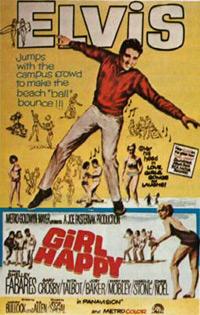 Movie poster 'Girl Happy'