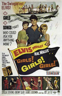 Movie poster 'Girls! Girls! Girls!'