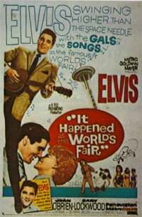 Movie poster 'It Happened At The World's Fair'