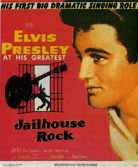 Movie poster 'Jailhouse Rock'