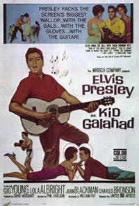 Movie poster 'Kid Galahad'