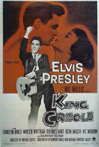 Movie poster 'King Creole'