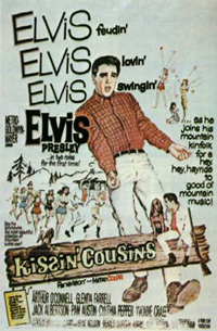 Movie poster 'Kissin' Cousins'