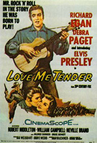 Movie poster 'Love Me Tender'