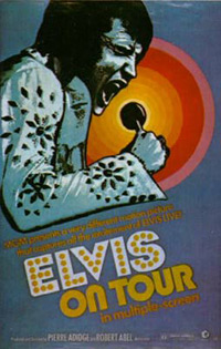 Movie poster 'Elvis On Tour'