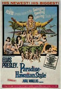 Movie poster 'Paradise, Hawaiian Style'