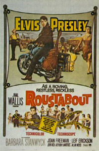 Movie poster 'Roustabout'
