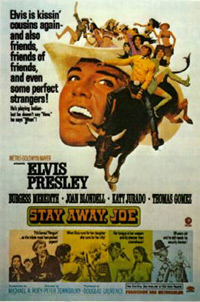 Movie poster 'Stay Away, Joe'