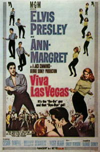 Movie poster 'Viva Las Vegas'