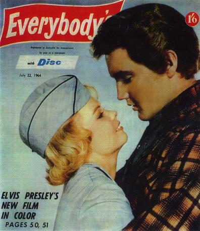 On-screen Smooch With Elvis Still Pays
