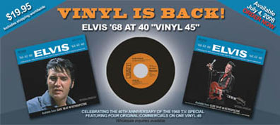 Buzzjack Music Forum Gt Elvis 68 At 40 On Vinyl